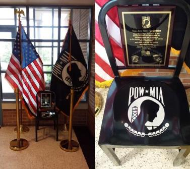 POW/MIA Chair of Honor