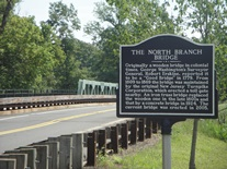 North Branch Bridge Sign