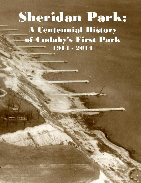Sheridan Park Anniversary booklet front cover