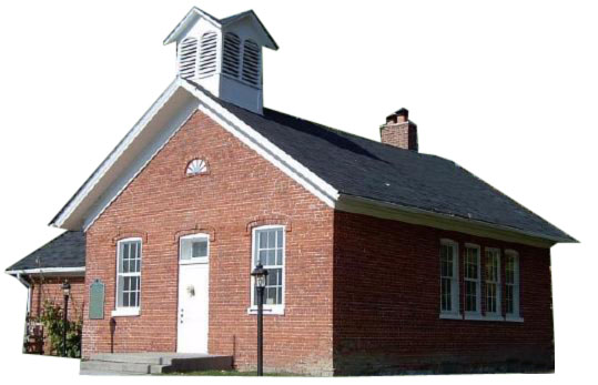 the leaf in the brick red schoolhouse What is green leaf brick but are quality, newly manufactured red , burgundy, and brown brick made from select materials that are rescued from landfills.