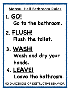 School Bathroom Rules