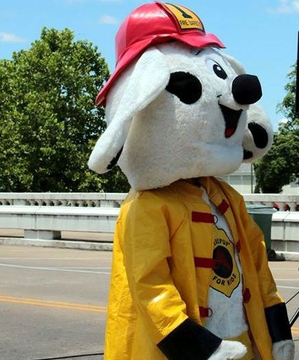 sparky the fire dog costume. sparky the fire dog costume