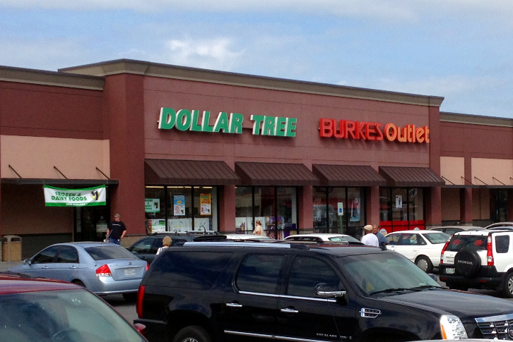 Dollar Tree & Burkes Picture