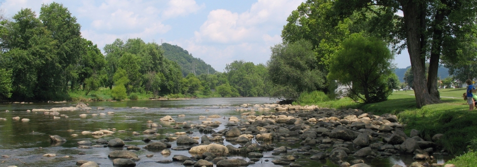Watauga River from Riverside