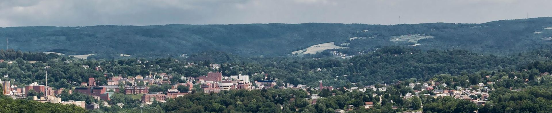 Overlooking Morgantown - Photo Credit: Amy Sine Photography
