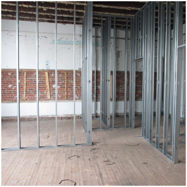 framing for third floor apartments