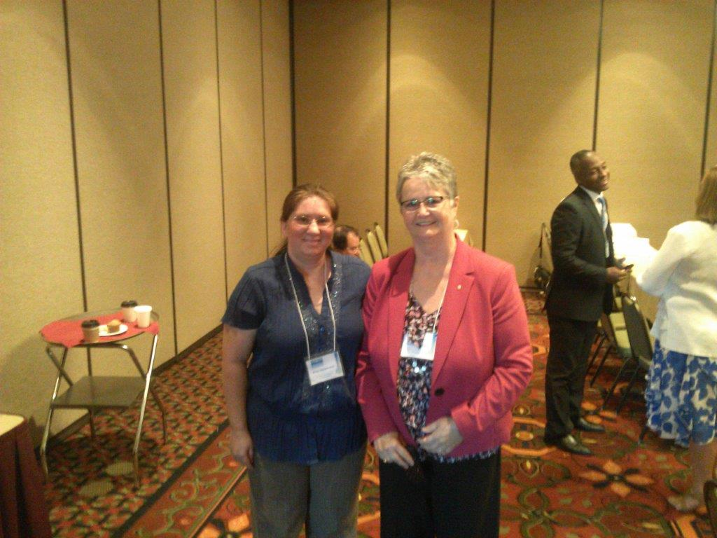 amy with donna sellers of united bank