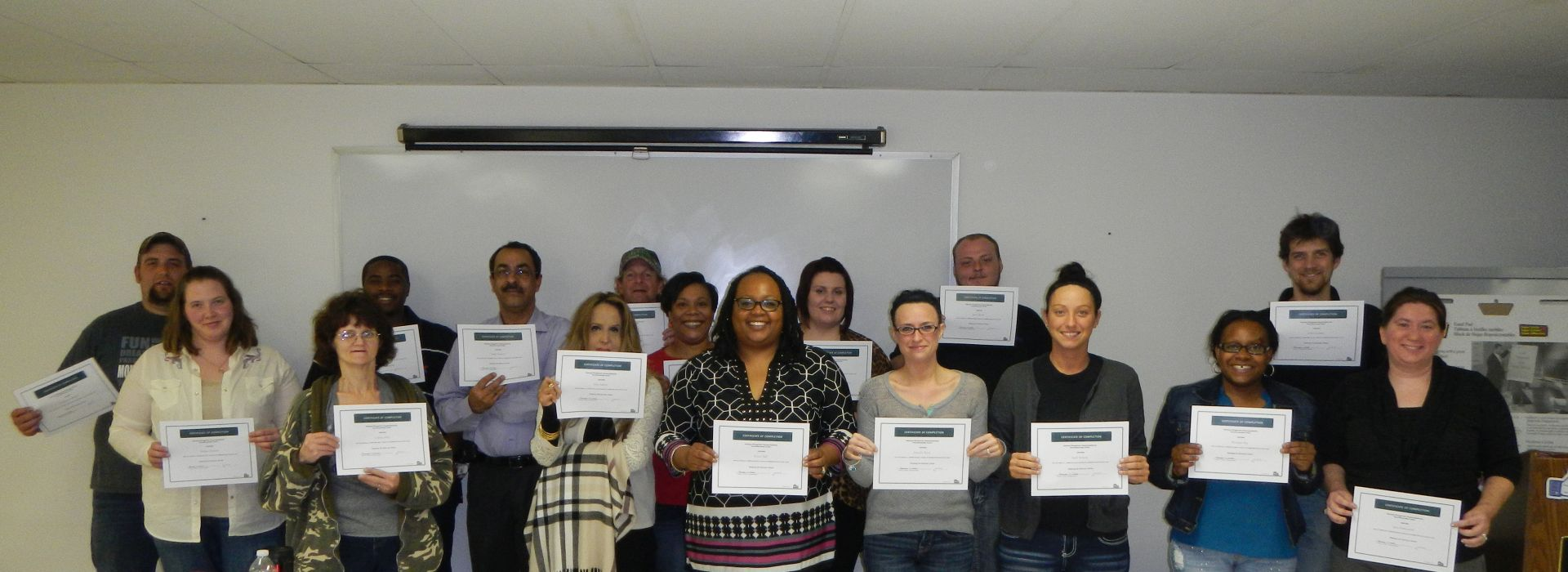 Homebuyer Education Class Graduates