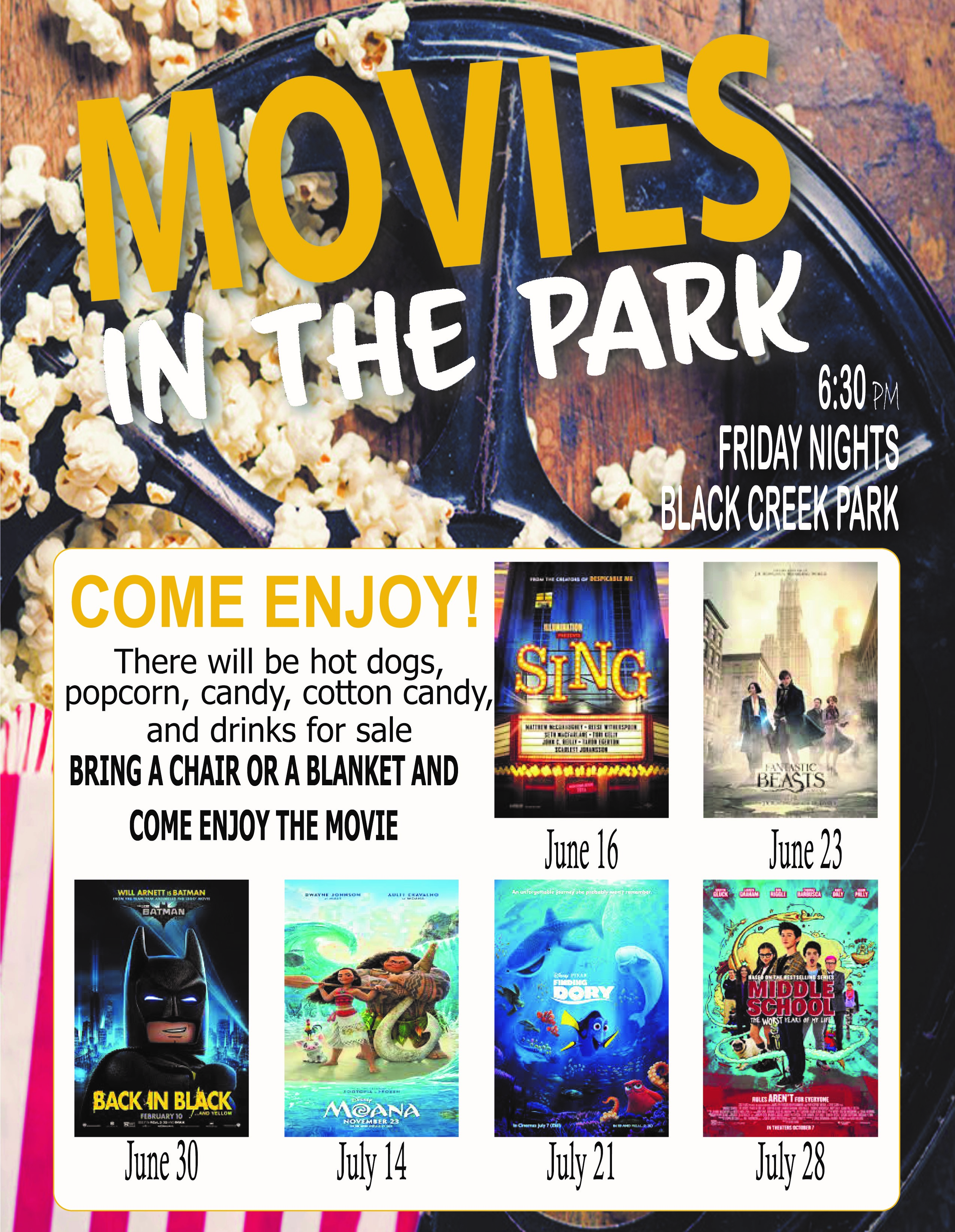 movies in the park2017