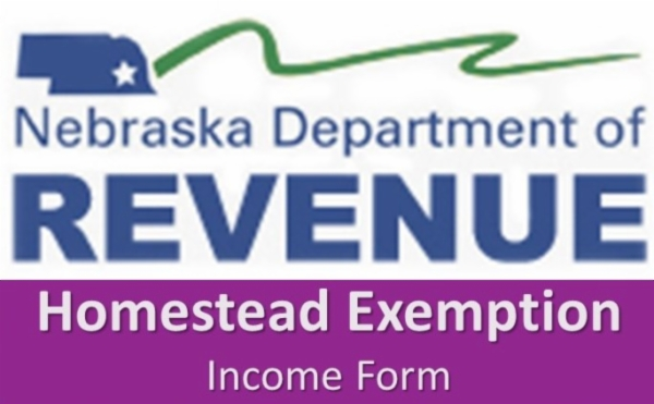 Homestead Exemption Income Form