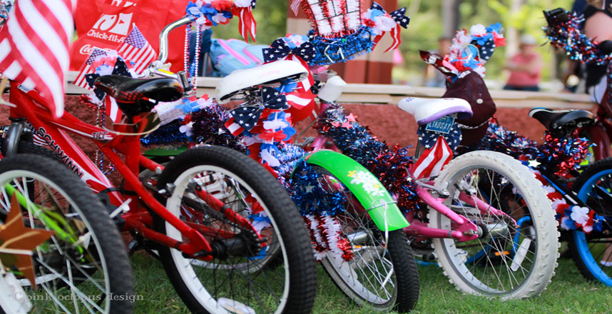 Fourth of July Kid's Bike Parade