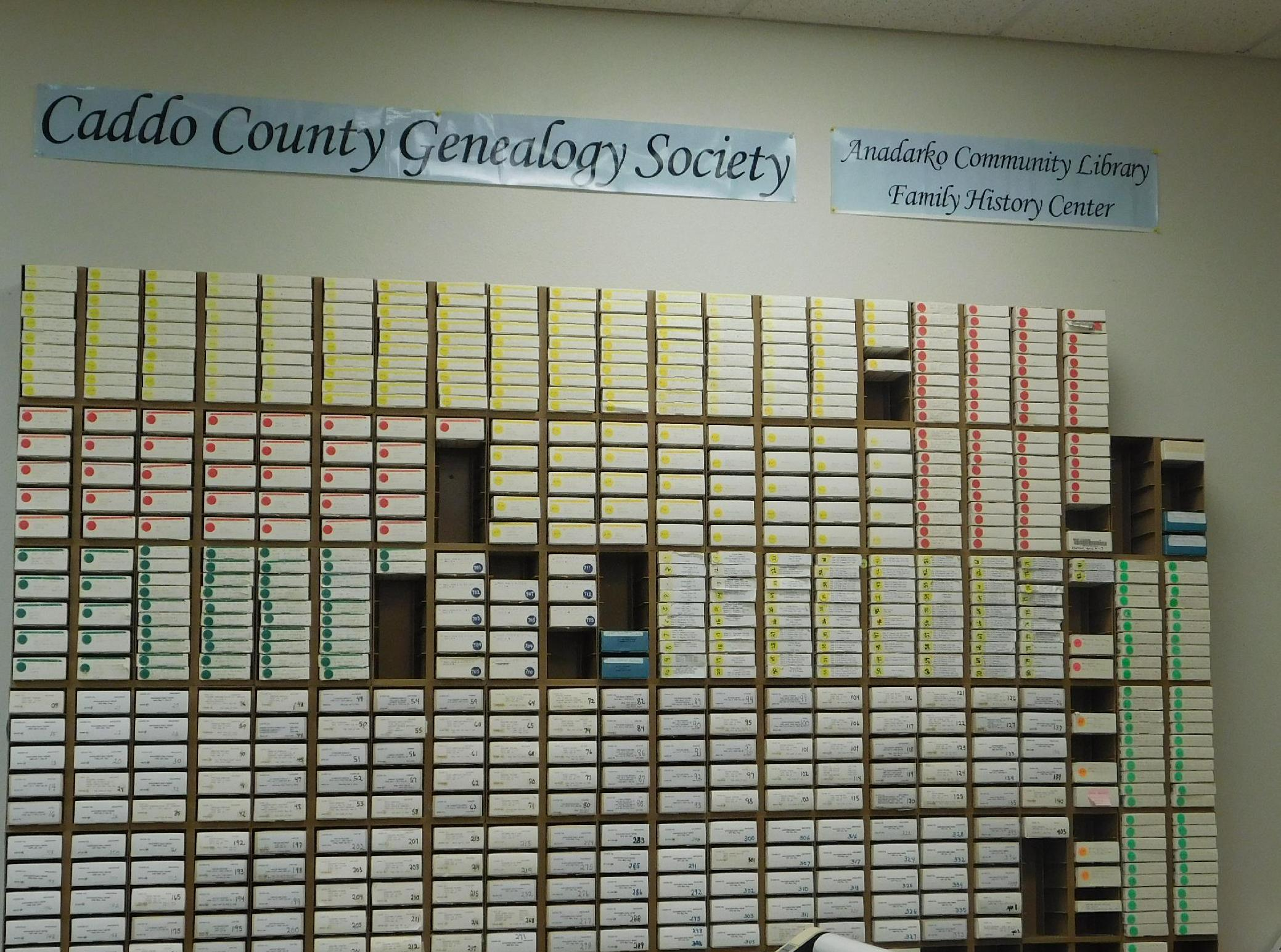 Caddo County Genealogy Society