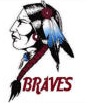 Riverside Braves Mascot