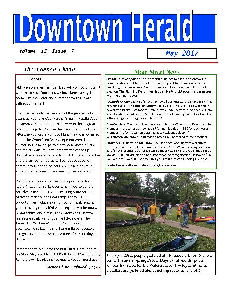 Downtown Herald May 2017 Page 1