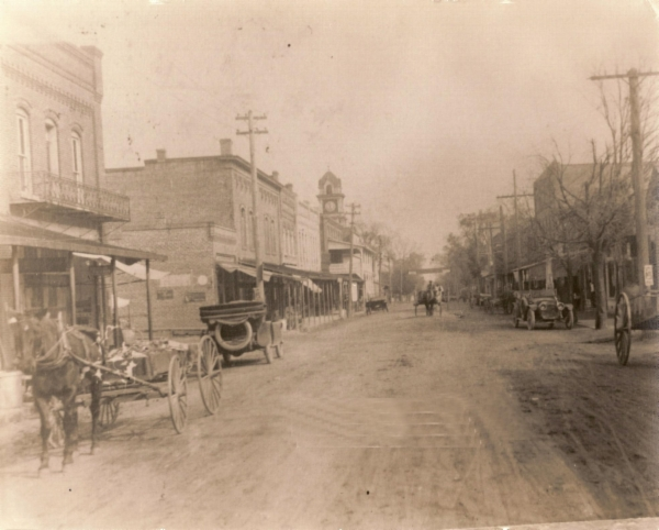 Downtown Williamston Historic Photographs