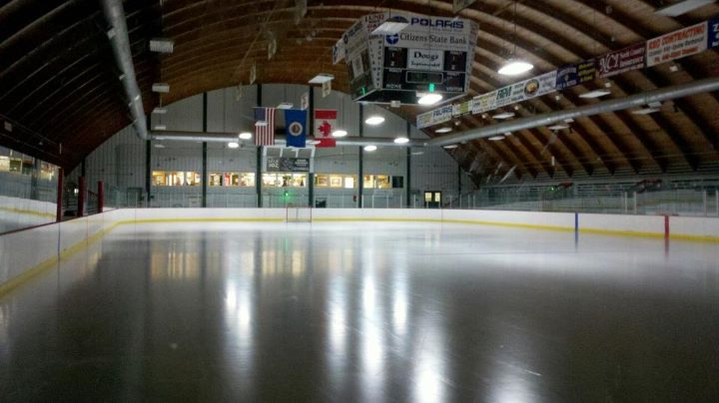 West End view Memorial Arena