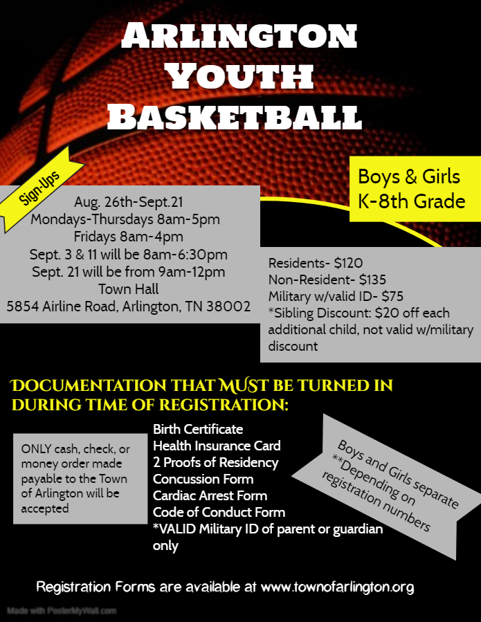 Basketball 2019 flyer