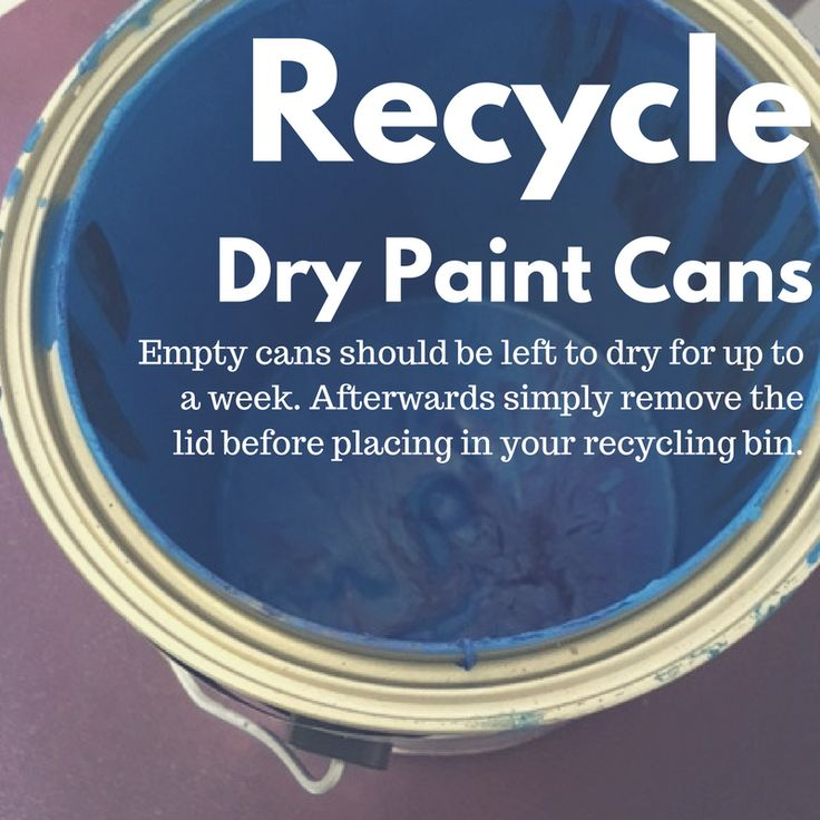 77e0252aa460336966c83b442f9cb116--paint-cans-recycling