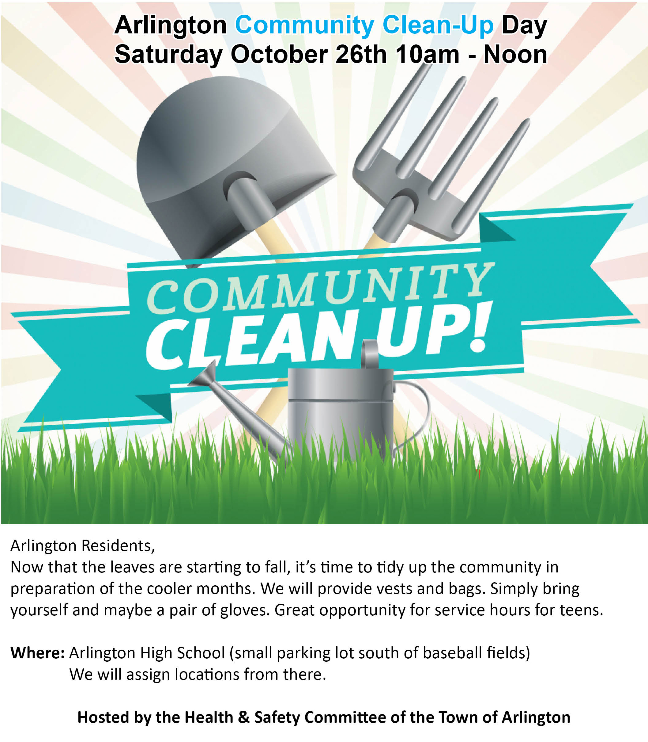 Community Clean Up Flyer 2019
