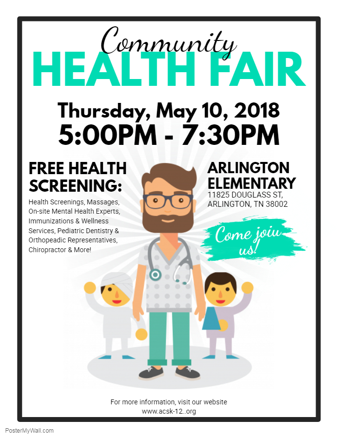 Copy of Community Health Fair Flyer