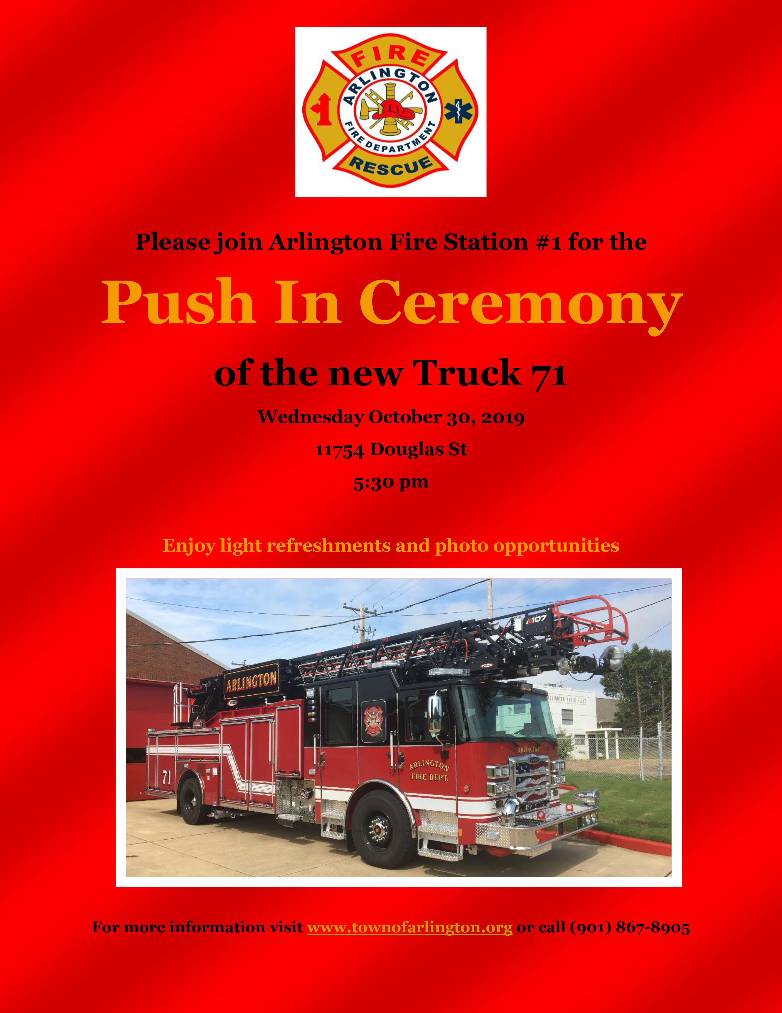 Push In Ceremony