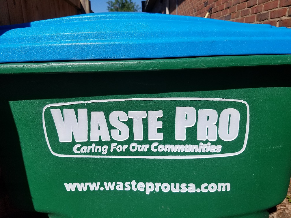 Waste Pro_Trash Can