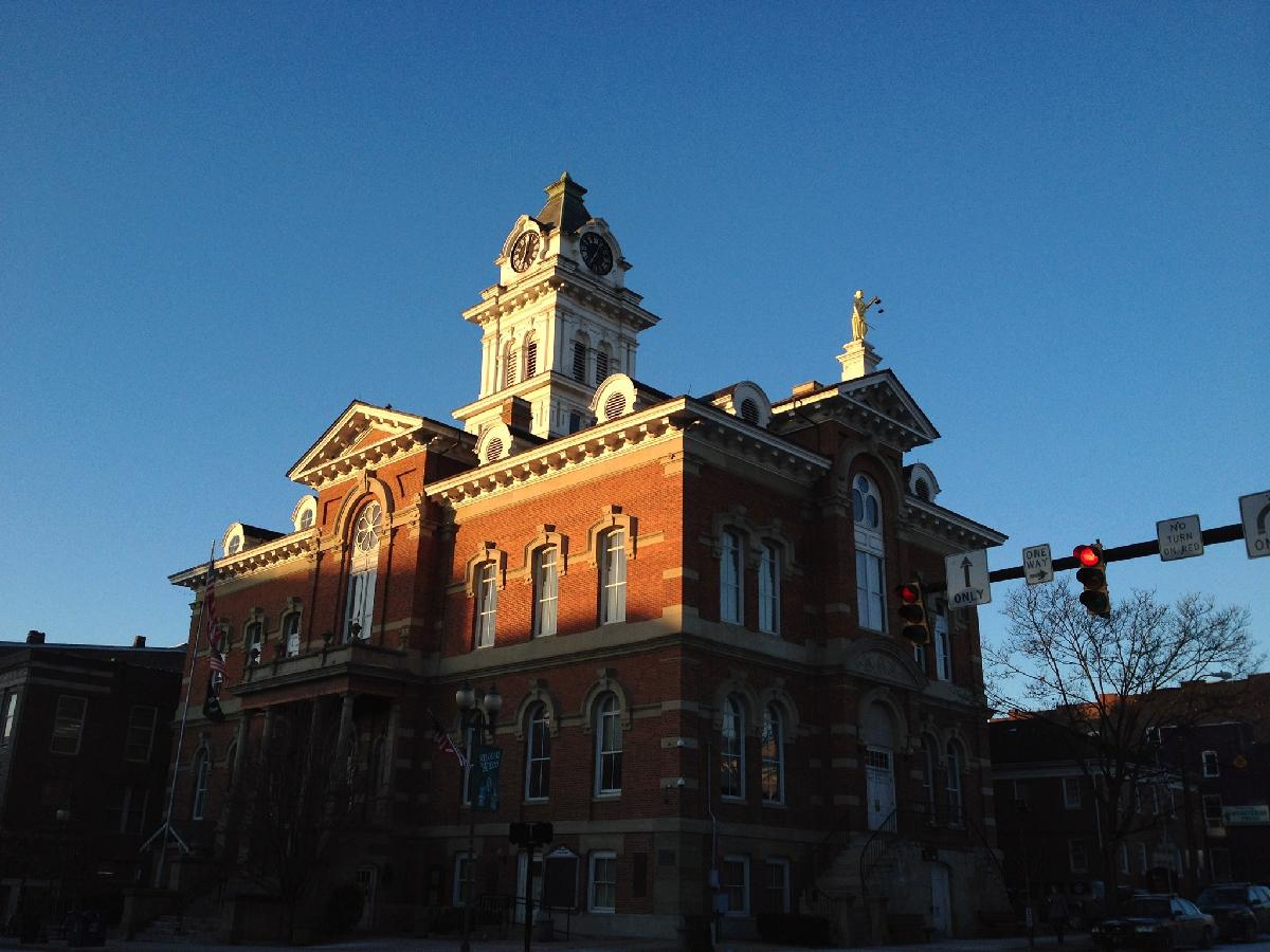 Athens County Courthouse by George McCarthy