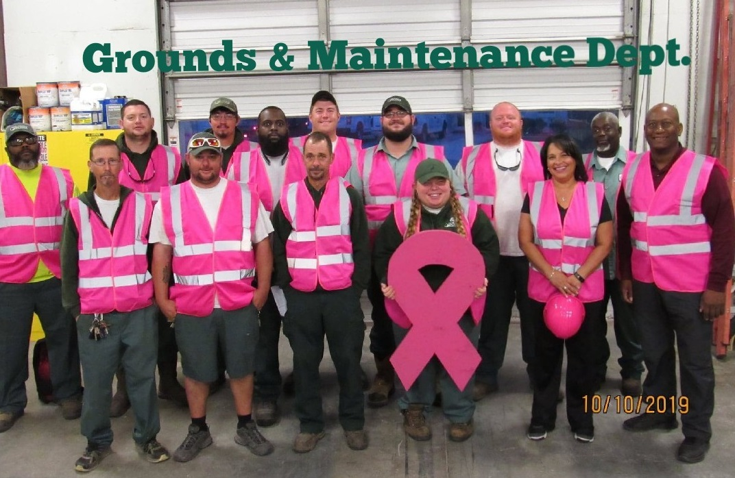 G&M Dept. Breast Awareness Month 2019