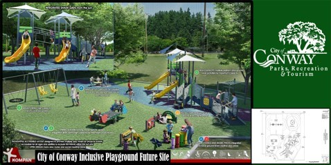 Inclusive Playground Site 1 with Design