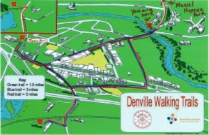 gazebo walkingtrail map