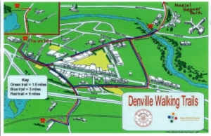 town hall walking trail map