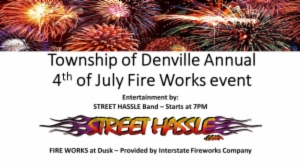 Township of Denville Annual th of July Fireworks