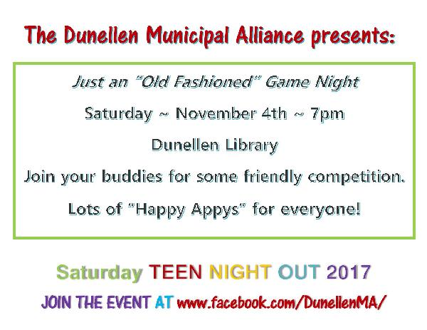 Teen Night Flyer (11_2017)