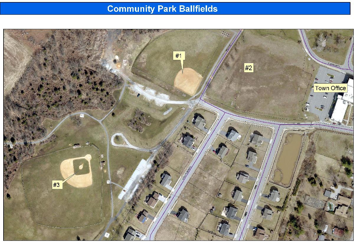 Community Park Ballfields crop cond