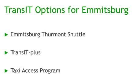 TransIT_Options_Emmitsburg