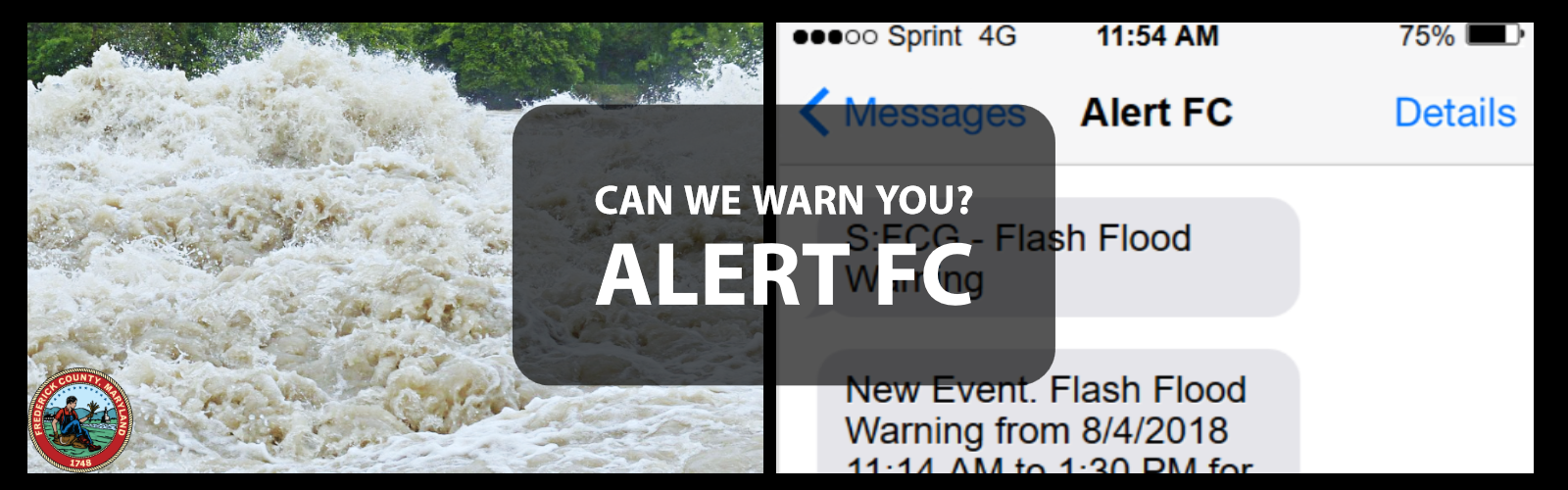 Banner reading: Can We Warn You Alert FC