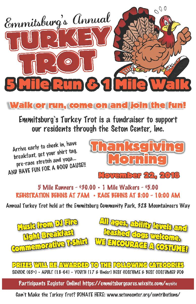 Turkey Trot Flier 110218