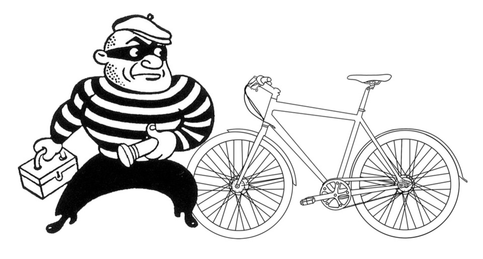 Photo of bike thief