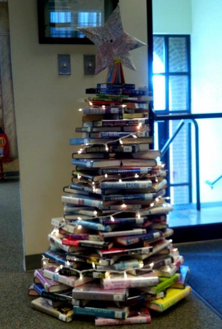 library book tree