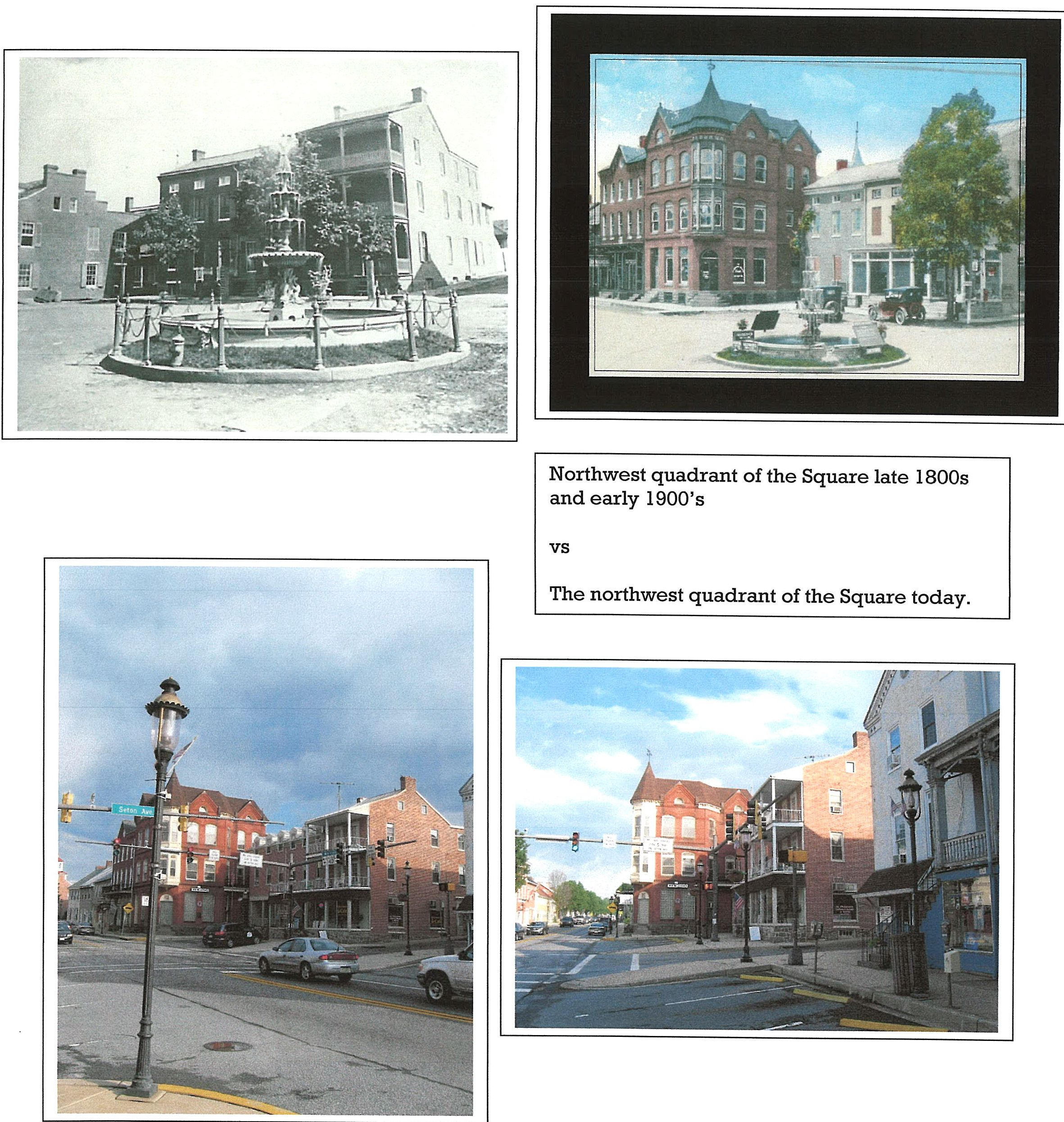 Town Square 1800 - 1900