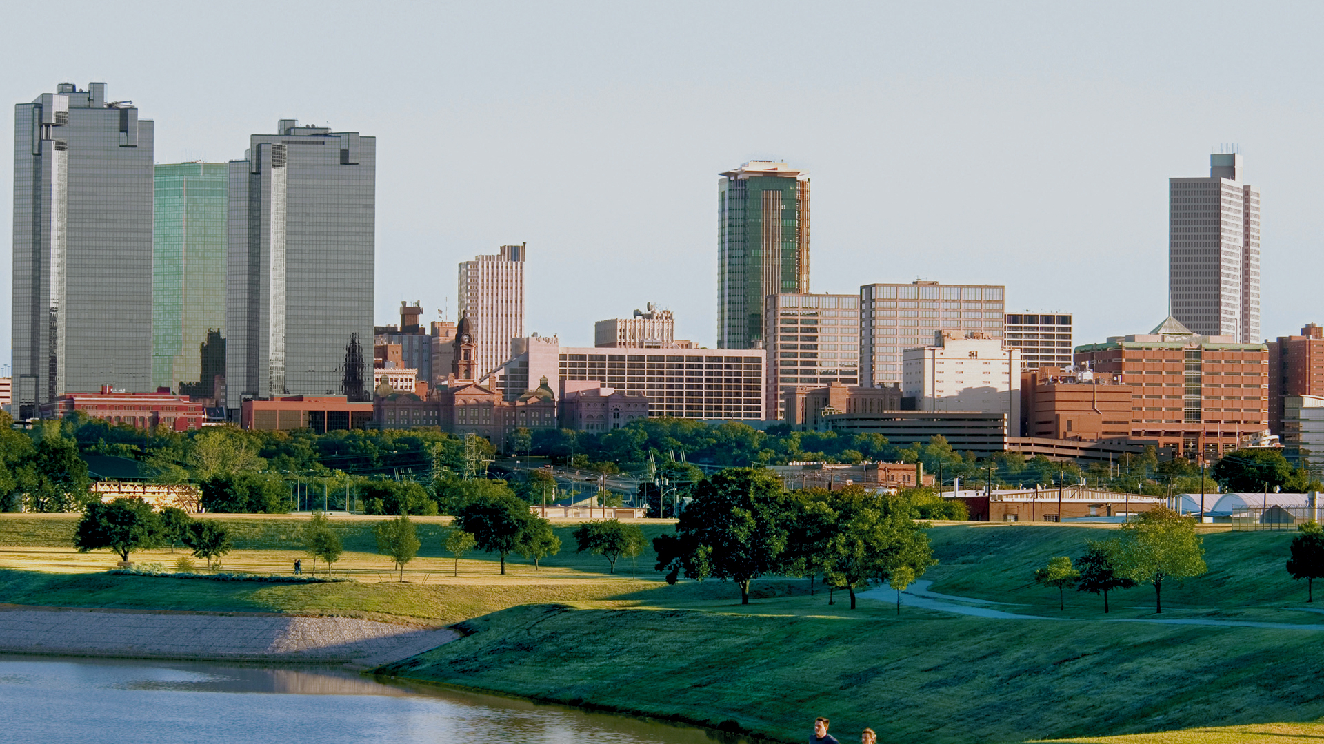 Picture of Fort Worth skyline