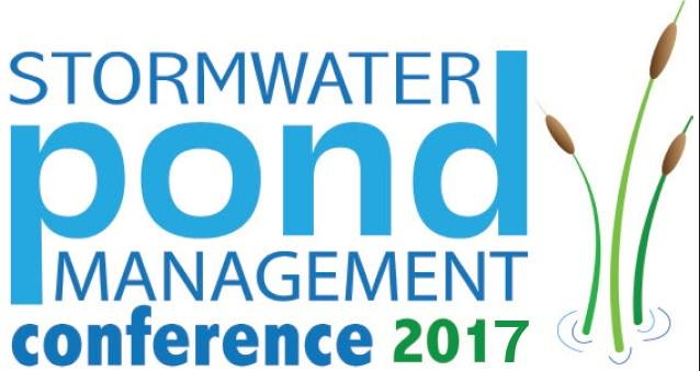 storm water pond management conf 2017