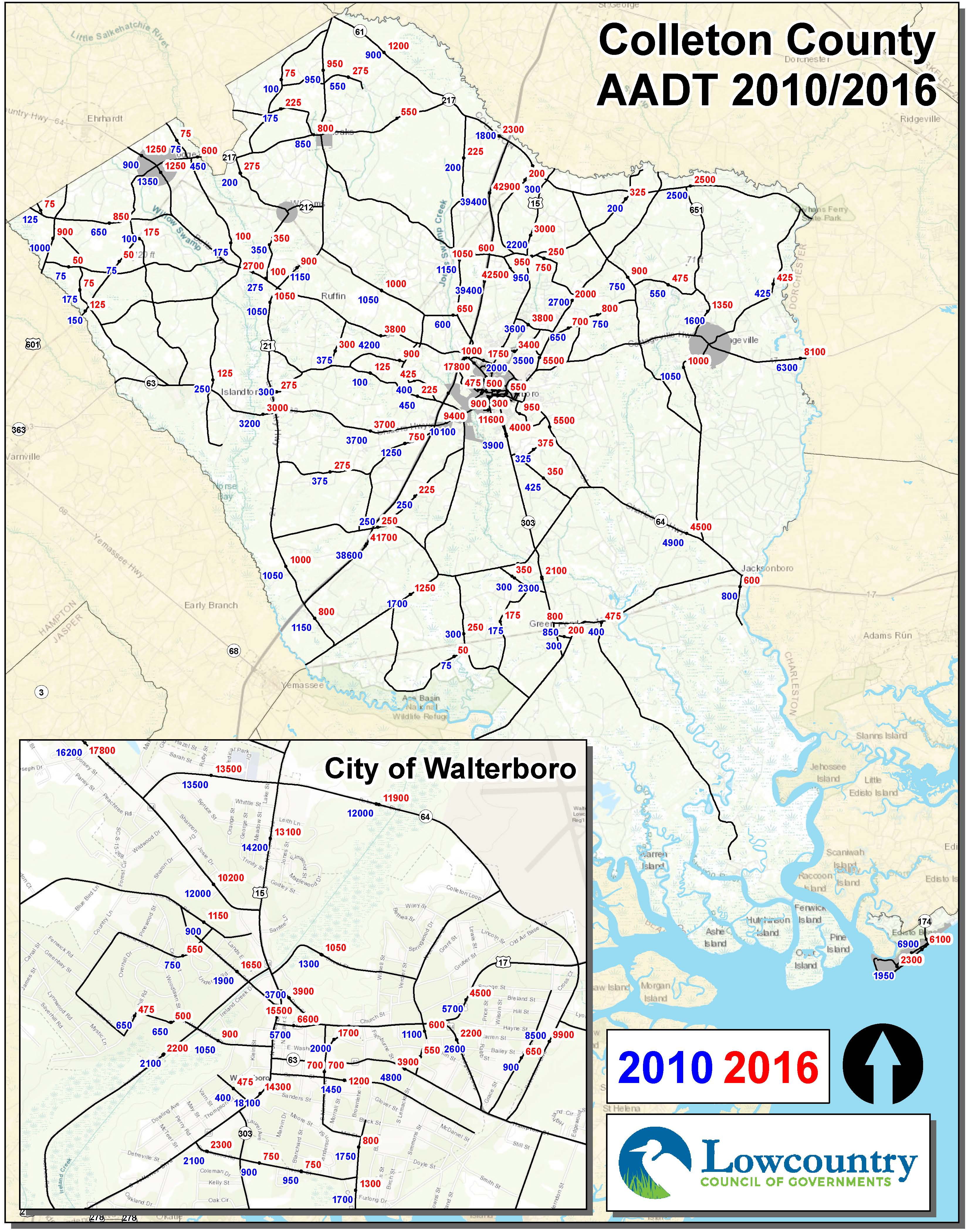 Colleton_County_Traffic Counts