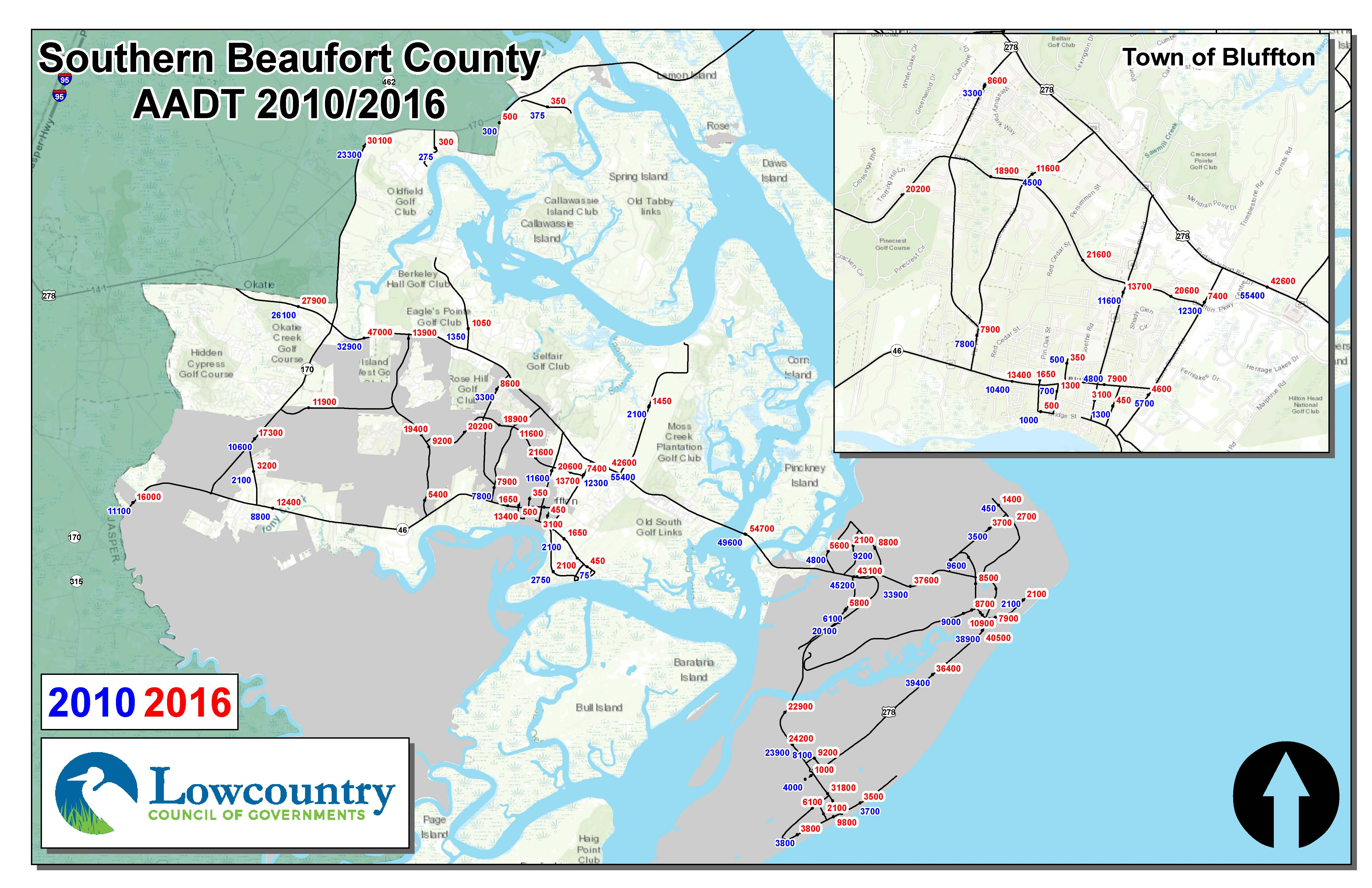 Southern Beaufort 2014 Traffic Counts
