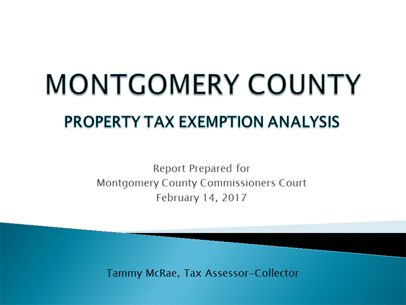 Property Tax Exemption Analysis