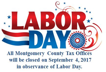 County Holiday - Labor Day