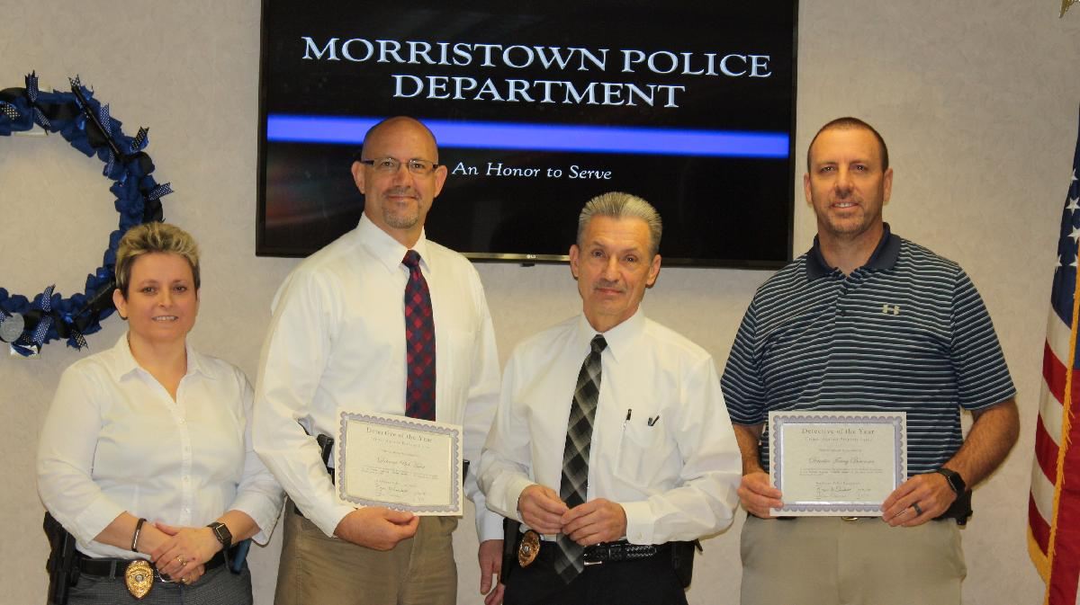 2017 Detective of the Year - Hurst & Bowman