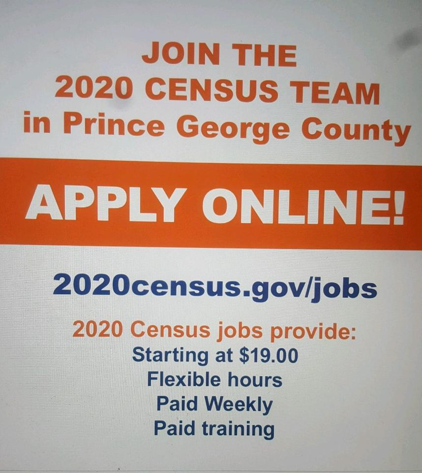 2020 Census Hiring Flyer - Copy - Copy