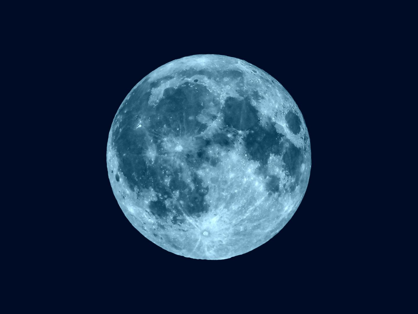 Blue Flower Moon May 2019