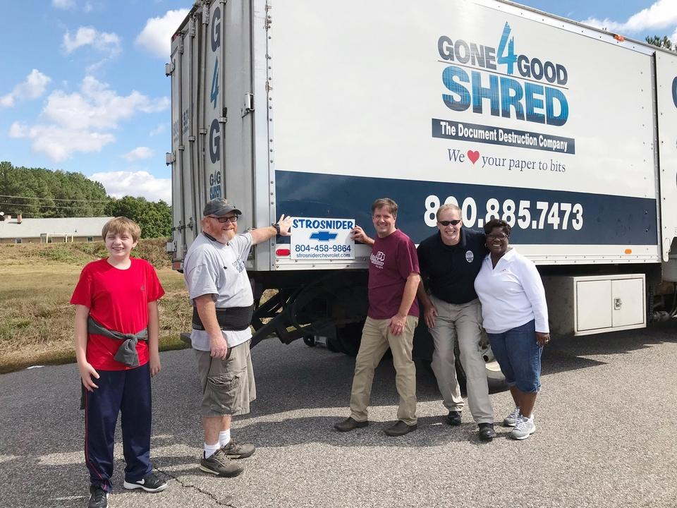FLFCU Shred & Food Drive